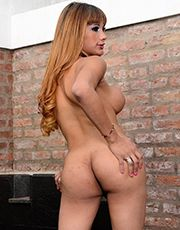 Zaia plays with her hot juicy dick! She wants to shoot her hot load all over your face