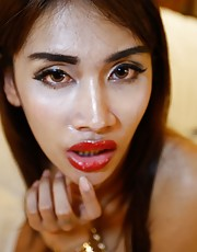 Cake - Thai ladyboy loves sucking and fucking tourists cock and balls
