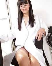SMJ favourite Yui Kawai has a PHD (a Pretty Hard Dick) and she invites you into her surgery today to administer it by mouth and ass as she promises to clear up all of your Monday ailments! Spreading her gorgeous legs to reveal her see-through panties whic