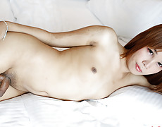 Donut2 - 19yo Thai ladyboy gets ass filled with a big white cock