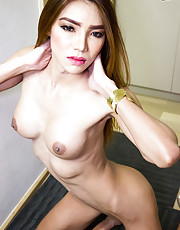 Maky is a gorgeous tall tgirl with a sexy slim body, big boobs, a firm bubble butt and a rock hard cock! Watch this sexy transgirl showing off her hot body and great ass!